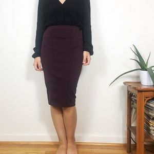 Zara Bodycon Knee Length Pencil Skirt